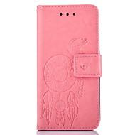 Para Samsung Galaxy S7 Edge Carteira / Porta-Cartão / Com Suporte / Com Relevo Capinha Corpo Inteiro Capinha Borboleta Rígida Couro PU