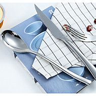 Stainless Steel Steak Knife And Fork Western Cutlery Spoon Full Set Of Dinnerware Continental