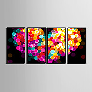 Abstract / Fantasy Framed Canvas / Framed Set Wall Art,PVC Black No Mat With Frame Wall Art
