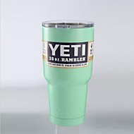 Mint Green Yeti 30oz Tumbler Rambler Stainless Steel Powder Coated Cup