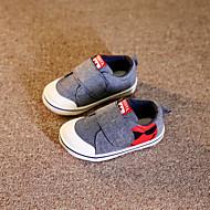 Uniseks Baby Platte schoenen Canvas Lente Herfst Causaal Platte hak Grijs Rood Plat