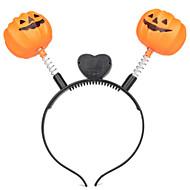 1pc Halloween-Kürbis-Kopfband ist Nachtlicht Kürbis Spielzeug dekoriert