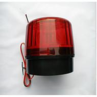 Red Flashing Lights Flashing Light Motorcycle Anti-Theft Security