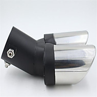 Automobile Tail Throat Bluing Thickened Stainless Steel Muffler