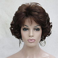 New Wavy Curly Auburn 31# Short Synthetic Hair Full Women's Thick  Wigs For Everyday