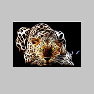 VISUAL STAR® Leopard Fantastic Canvas Wall Picture Art for Living Room Ready to Hang