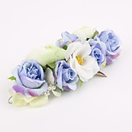 Women's Fabric Headpiece-Wedding / Special Occasion Hair Combs / Flowers 1 Piece