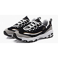 Women's Athletic Shoes Spring / Fall Round Toe Fabric Athletic Flat Heel Others / Lace-up Blue / Black and Gold / Black