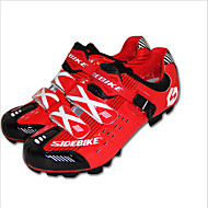 Men's Athletic Shoes Fall Leather Outdoor Athletic Flat Heel Others Red Hiking