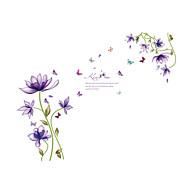 חיות / כריסטמס / פרחים מדבקות קיר מדבקות קיר מטוס מדבקות קיר דקורטיביות / מדבקות גובה,PVC חוֹמֶרניתן לכיבוס / ניתן להסרה / ניתן למיקום
