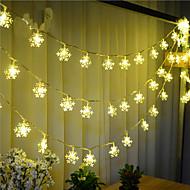 100-ledede 10m sne lys vandtæt stik udendørs jul ferie dekoration lys førte streng lys