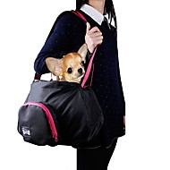 Γάτα Σκύλος Αντικείμενα μεταφοράς & Σακίδια ταξιδίου πλάτης Με Λουράκι Κατοικίδια Αντικείμενα μεταφοράς Φορητό Μονόχρωμο Μαύρο Γκρίζο