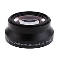 67 מיליון 0.43x עדשת מאקרו עדשת זווית רחבה עבור 18-135mm T3i t4i t5i המורדים Canon עבור ערכת העדשה ניקון 18-105mm