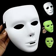 halloween maski wuke henkitanssi valoisa maski tanssi valkoinen naamio tanssi wuke hip-hop maskia