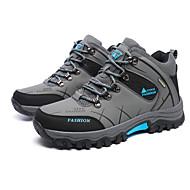 Spor Ayakkabısı-Rahat-Rahat-PU-Düz Topuk-Yeşil Gri Haki-Erkek