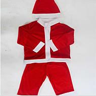 joulupukki puku vaatteita lapsille joulu puvut näyttää 100-110cm