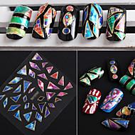 24pcs Nail Art matrica 3D-s körömmatricák smink Kozmetika Nail Art Design
