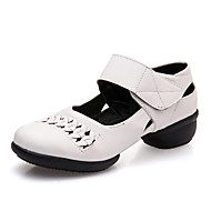 Sapatos de Dança(Preto / Vermelho / Branco) -Feminino-Não Personalizável-Latina / Jazz / Tênis de Dança / Moderna