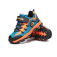 Atletické boty-Koženka-Pohodlné-Chlapecké-Modrá Námořnická modř-Outdoor Atletika-Plochá podrážka
