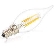 stmívatelné 6waty E14 vedl vlákno žárovky ca35 6 klasem 550lm teplá / studená bílá žárovky svítí lampara (220)