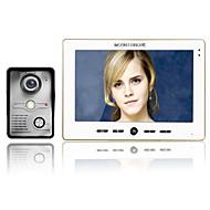 480*234 90 CMOS Sistema de campainha Com Fios Campainha de vídeo multifamiliar