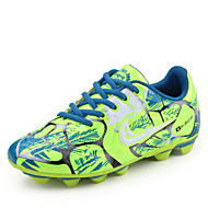 Boy's Athletic Shoes Spring / Fall Comfort Fabric Athletic / Casual Flat Heel Studded / Lace-up Blue / Green / RedRunning / Soccer /