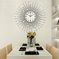 moderncontemporary houses wall clockothers acrylic glass metal 6565cm indoor clock - Modern Designer Wall Clocks