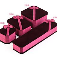 Praktické ODMĚNY-4件 Krabičky na papírové kapesníky Motýlí motiv Lila 23*6*3.5cm Stuhy