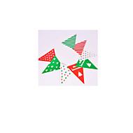 beachten Sie, rot, grün und weiß 2-Paket für salechristmas Partydekorationen