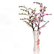 1 1 ブランチ ポリエステル / プラスチック 桜 フロアフラワー 人工花 43.3inch/110cm