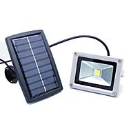 joyshine ovládání 10waty světlo sluneční energie LED osvětlení lampa zahradní balkón vnější chodba teplá bílá