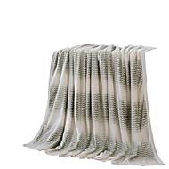 Flanel Šedá,Jednolitý Jednolitý 100% polyester přikrývky 200x230cm