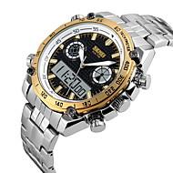 SKMEI® Men's Sport Watch / Wrist watch Japanese QuartzLCD / Calendar / Water Resistant/Water Proof / Dual Time Zones / Three Time Zones / Alarm