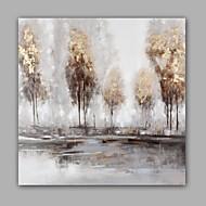 Håndmalte Abstrakt Landskap olje~~POS=TRUNC malerier~~POS=HEADCOMP,Moderne Klassisk Et Panel Lerret Hang malte oljemaleri For Hjem Dekor