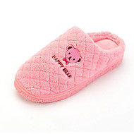 Women's Fashion Slippers & Flip-Flops Indoor SlippersCasual Warm Shoes Flat Heel Slip-on Blue / Pink / Peach