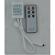 (Megjegyzés a két csomagolva) infravörös 6 gomb LED vezérlő