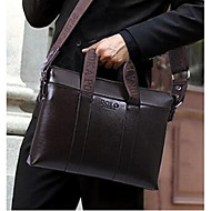 Men PU Office & Career Briefcase