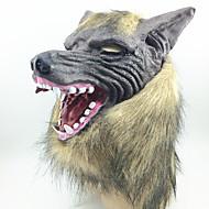 halloween kammottava kumi eläin mane ihmissusi susi pää naamio halloween naamioitu cosplay osapuoli puku prop