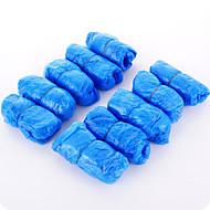 Unissex-Chinelos e flip-flops-Conforto-Rasteiro-Azul-Sintético-Casual