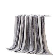 Flanela Cinzento,Sólido Sólido 100% Poliéster cobertores 200x230cm