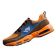 Dame-Tyll-Flat hæl-Komfort-Sportssko-Sport-Grønn Oransje Marineblå