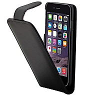のために iPhone 7ケース / iPhone 6ケース / iPhone 5ケース カードホルダー / フリップ ケース フルボディー ケース ソリッドカラー ハード PUレザー AppleiPhone 7プラス / iPhone 7 / iPhone 6s