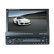7inch 1DIN lcd touch screen digital panel bil dvd-afspiller støtte ipod.bluetooth.stereo radio.gps.touch skærm