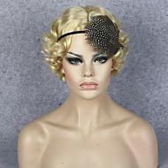 Kostiumy damskie Klapa peruka peruki retro dorosłych