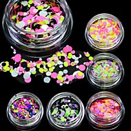 1bottle Nail Art Decoration Rhinestone Pearls make-up Cosmetische Nail Art Design