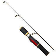 Fishing Rod / Spinning Rod Ice Fishing Rod PE / FRP 0.66 M Ice Fishing Rod Black-OEM