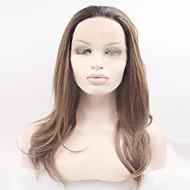 szintetikus teljes csipke paróka divat hosszú göndör körte fej csipke horgolt fej magas hőmérsékletű vezetékes paróka