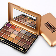 Women Pro Cosmetic Makeup 24 Full Colors Eyeshadow Palette Eye Shadow Waterproof Make Up Miss Rose Quality Assurance