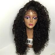 anteriore del merletto parrucche sintetiche resistenti parrucche sintetiche dei capelli crespi anteriore del merletto riccia parrucca