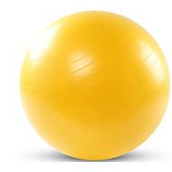 75cm Fitnessboll Plast Gul / Rosa / Grå / Blå / ljusgrön 75cm Dam / Unisex NO